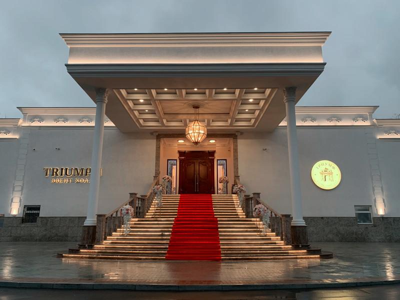 Триумфальный выпускной в Триумф Холл (Triumph Event Hall) 17 Москва