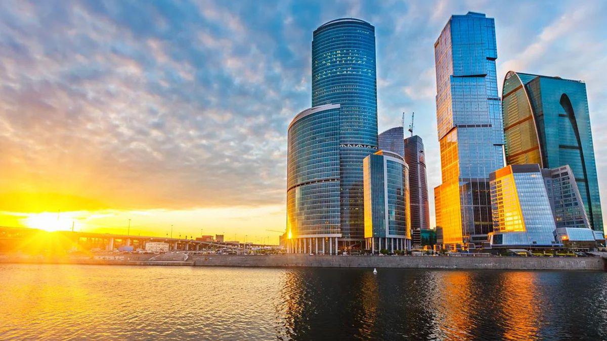 выпускной в Москва-сити выше нас только небо москва