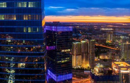 Выпускной Выше нас только небо в Башне Москва Сити-12