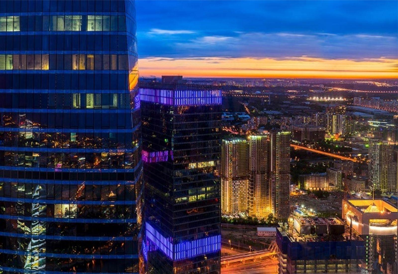 Выше нас только небо в Башне Москва Сити 11Москва