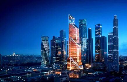 Выпускной Выше нас только небо в Башне Москва Сити-3