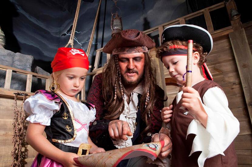 Выпускные для детского сада Пиратские приключения на судне «Чёрная жемчужина» москва