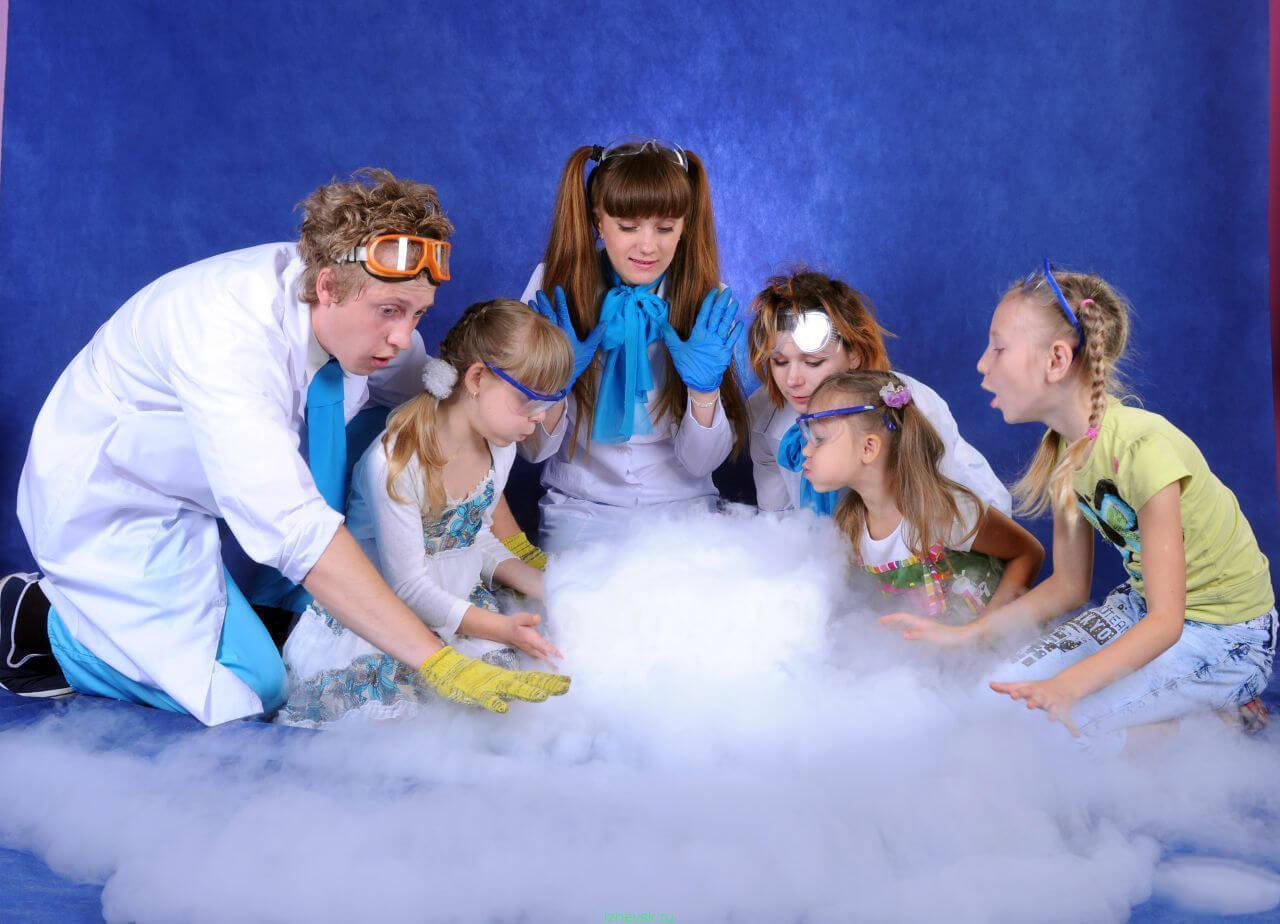 Выпускные для детского сада «Научно-фантастический» москва