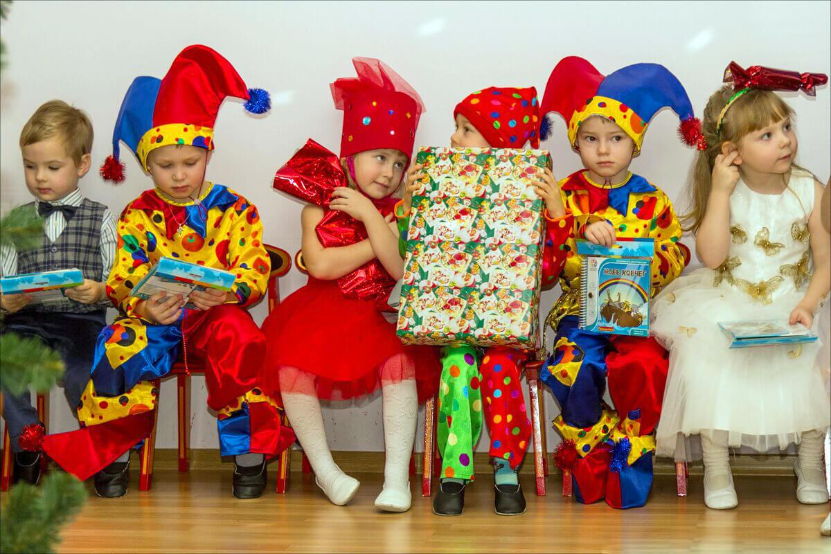 Выпускные для детского сада «Бал-карнавал» москва