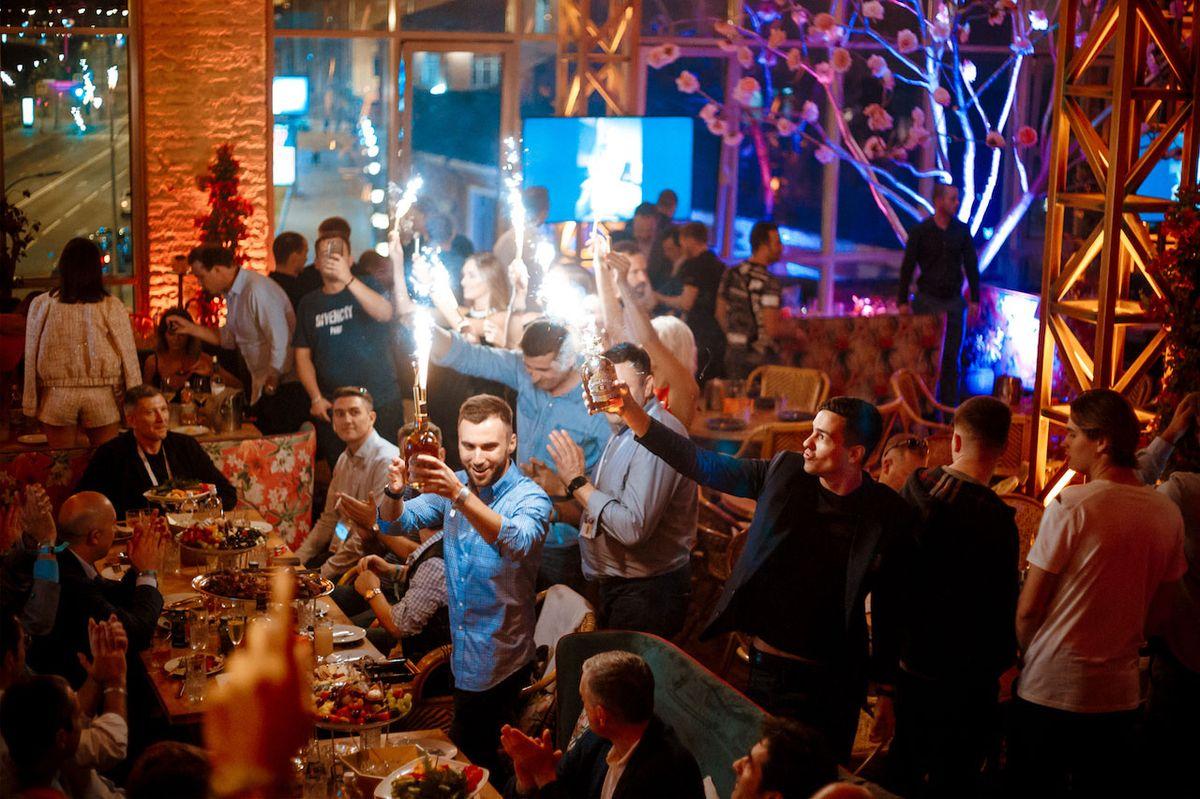 Выпускной в стиле Gatsby в новомодном клубе Soho Rooms