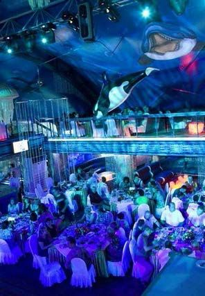 Выпускной в красивом загородном клубе «На воде» на острове Малибу