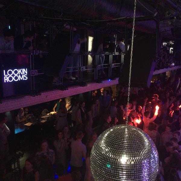 Вечеринка в клубе Lookin Rooms 7
