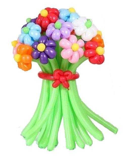 Оригинальный букет из шаров для любимых учителей