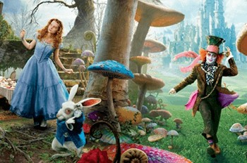 Выпускной «Алиса в зазеркалье»