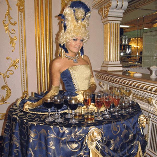 Королевский прием в Екатерининском дворце 7